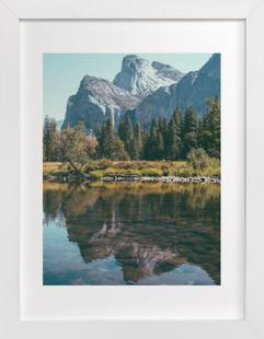 Yosemite Reflections Art Print