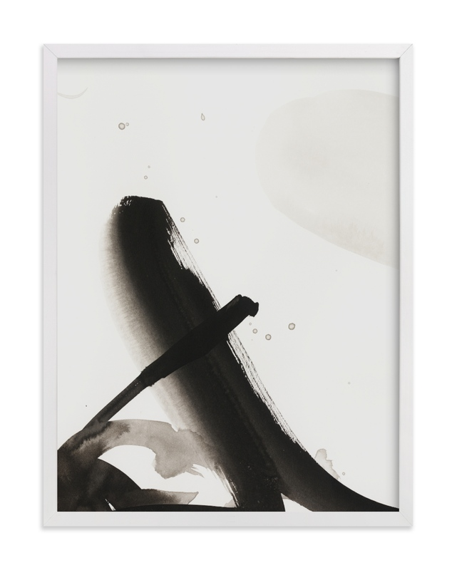 """""""Playful inks"""" - Limited Edition Art Print by Svitlana Martynjuk in beautiful frame options and a variety of sizes."""