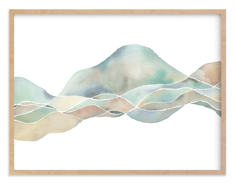 """""""Marin"""" - Limited Edition Art Print by Jennifer Daily in beautiful frame options and a variety of sizes."""