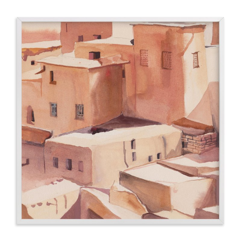 """""""Morocco"""" - Limited Edition Art Print by Viktoria Eperjesi in beautiful frame options and a variety of sizes."""