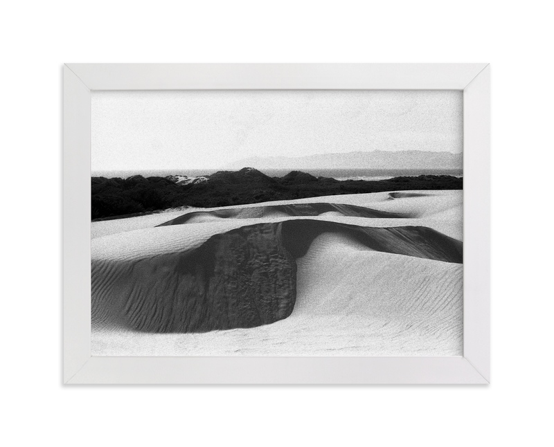"""Coastal Moonscape"" - Limited Edition Art Print by Cade Cahalan in beautiful frame options and a variety of sizes."
