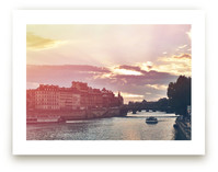 Sunset on The Seine by Letter and Ink
