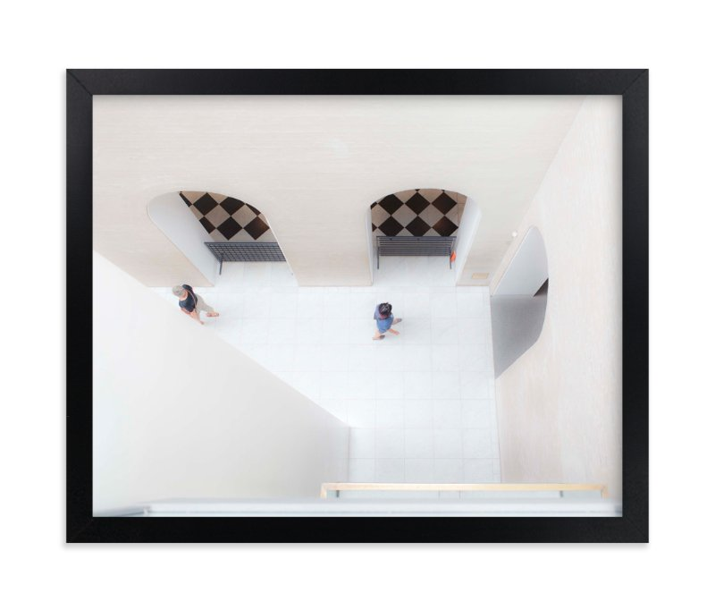 """""""look DOWN"""" - Limited Edition Art Print by Gail Schechter in beautiful frame options and a variety of sizes."""