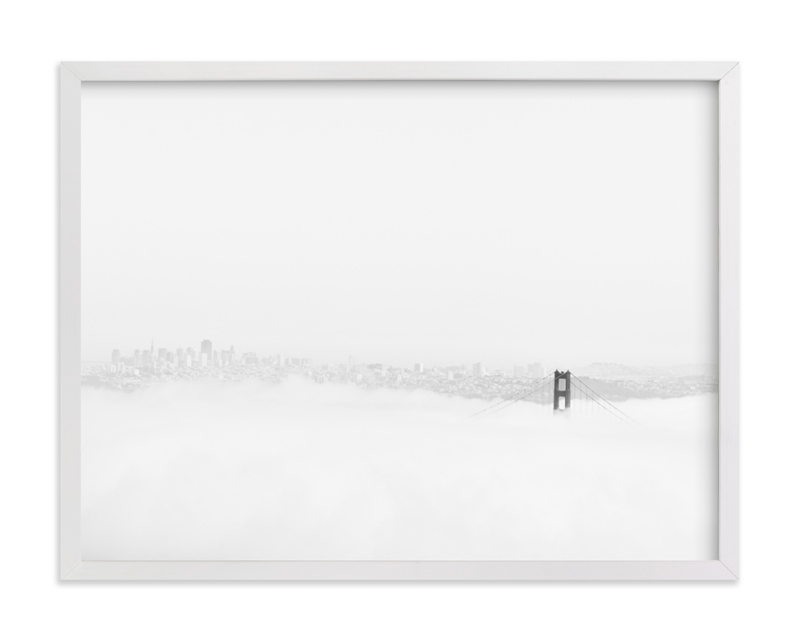 """""""Above the Fog"""" - Limited Edition Art Print by Tania View in beautiful frame options and a variety of sizes."""