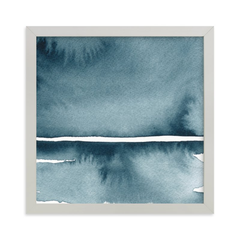 """Winter Windswept"" - Limited Edition Art Print by Renee Anne in beautiful frame options and a variety of sizes."