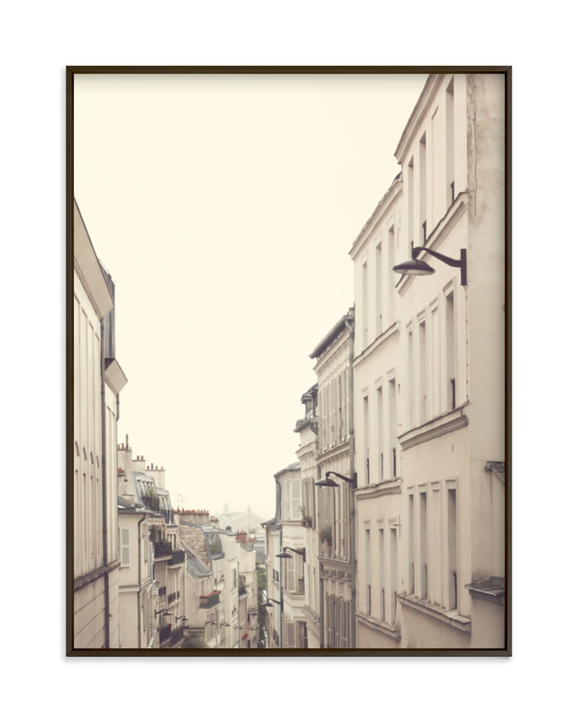 """Montmartre Unique Perspectives"" - Limited Edition Art Print by Caroline Mint in beautiful frame options and a variety of sizes."