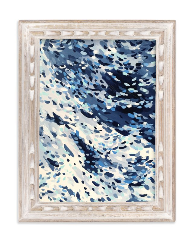 """""""Zuma"""" - Limited Edition Art Print by Katie Craig in beautiful frame options and a variety of sizes."""
