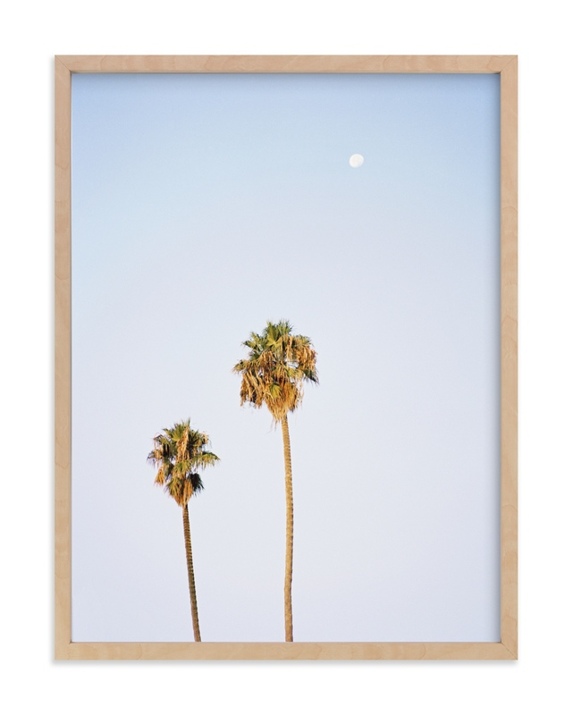 """""""California Sky"""" - Limited Edition Art Print by Tania View in beautiful frame options and a variety of sizes."""