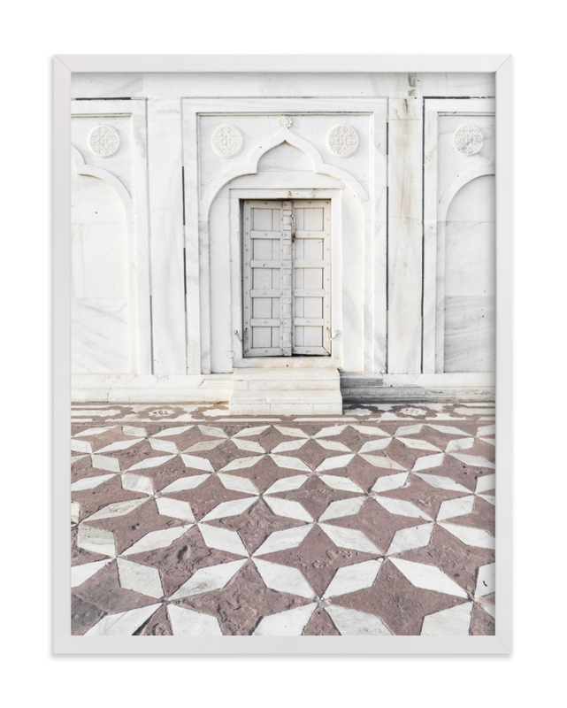 """""""Palace Walk 1"""" - Limited Edition Art Print by Kamala Nahas in beautiful frame options and a variety of sizes."""