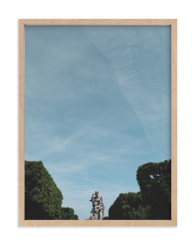 """""""Le Jardin"""" - Limited Edition Art Print by Claire Abbiyesuku in beautiful frame options and a variety of sizes."""