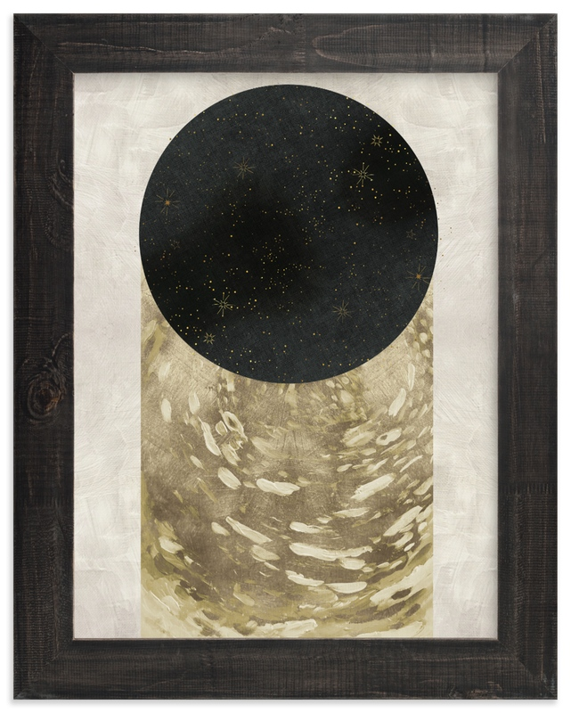 """""""Peep Hole"""" - Limited Edition Art Print by Faiza Khan in beautiful frame options and a variety of sizes."""