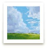 Cloudy Landscape by Agnes Szlapka