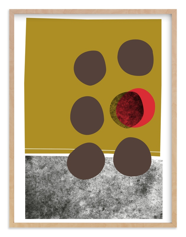 """""""abstracciones vol.2"""" - Limited Edition Art Print by Aspacia Kusulas in beautiful frame options and a variety of sizes."""