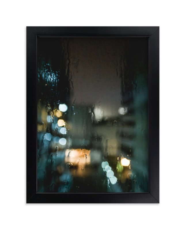 """""""Drippy Window"""" - Limited Edition Art Print by Shannon Paras in beautiful frame options and a variety of sizes."""