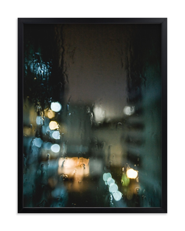 """Drippy Window"" - Limited Edition Art Print by Shannon Paras in beautiful frame options and a variety of sizes."