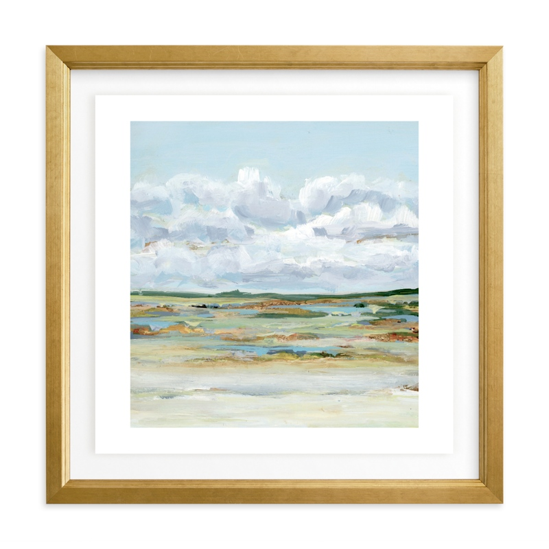 """""""Of the Prairies"""" - Limited Edition Art Print by Nicole Walsh in beautiful frame options and a variety of sizes."""