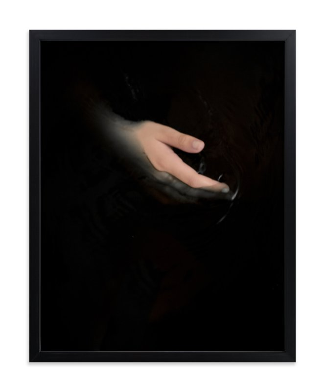 """hold my hand"" - Limited Edition Art Print by Gabriela Klafke in beautiful frame options and a variety of sizes."