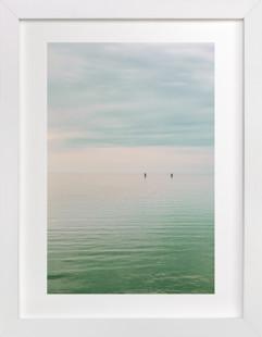 Hushed Horizon Art Print