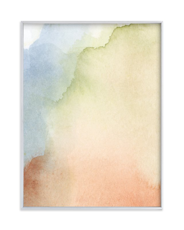"""""""Somewhere"""" - Limited Edition Art Print by Artsy Canvas Girl Designs in beautiful frame options and a variety of sizes."""