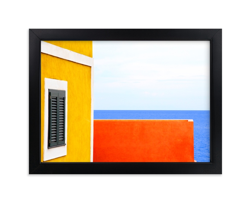 """""""Lonely horizons looking for summer"""" - Limited Edition Art Print by Massimiliano Massimo Borelli in beautiful frame options and a variety of sizes."""