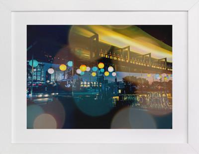 Night in the City Art Print