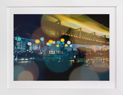 Night in the City Art Print