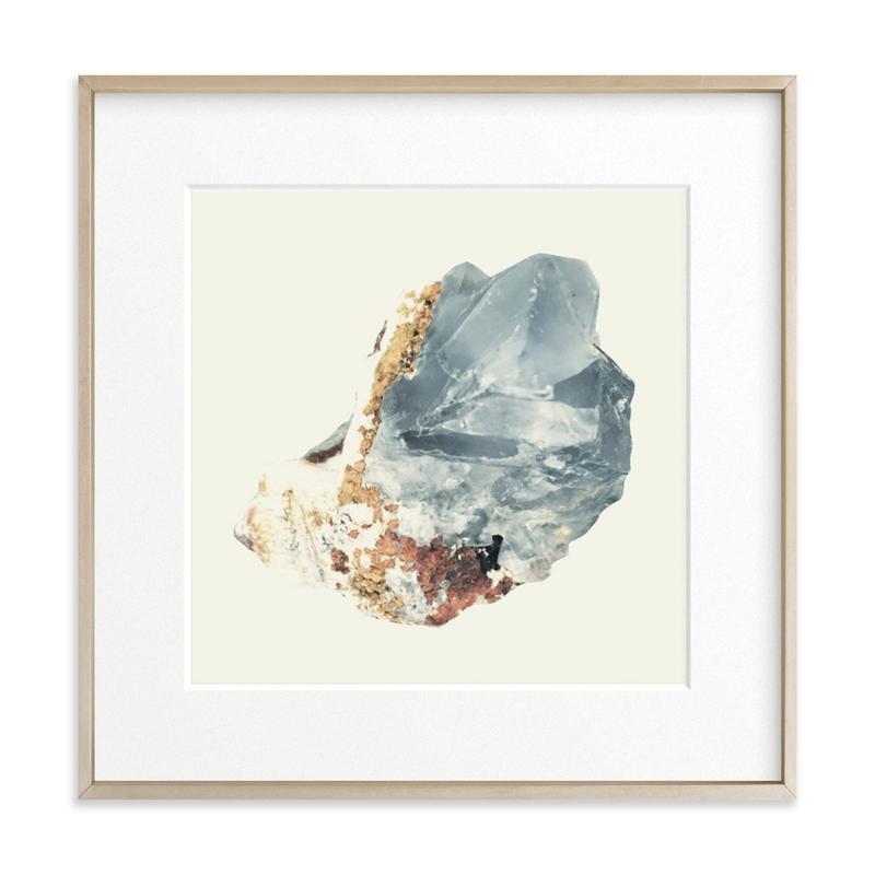 Rock Study 2 fluorite Art Print