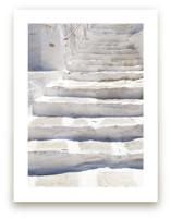 White stairs by Marimba Morris