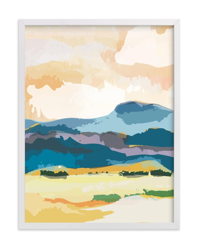 """""""Sunset Escape"""" - Limited Edition Art Print by Sara Shashani in beautiful frame options and a variety of sizes."""