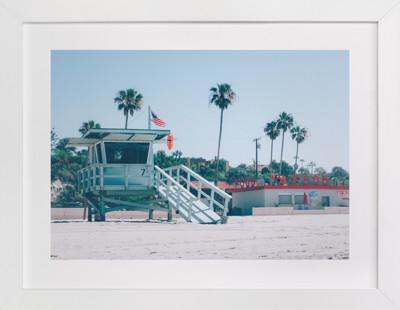 Zuma Beach Malibu No. 3 Art Print