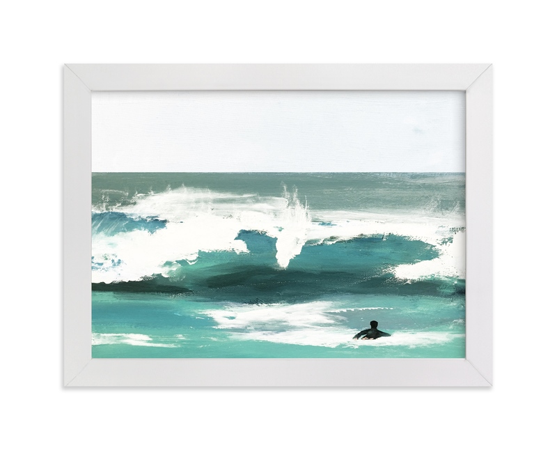 """""""heading out"""" - Limited Edition Art Print by Jenny Partrite in beautiful frame options and a variety of sizes."""