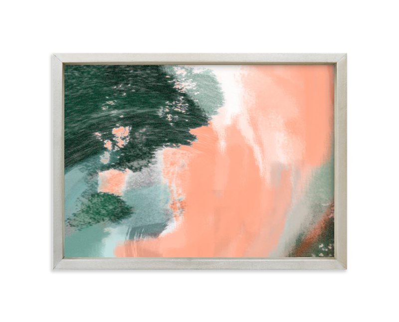 """""""Coral Tide"""" - Limited Edition Art Print by Alison Jerry Designs in beautiful frame options and a variety of sizes."""