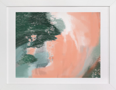 Coral Tide Art Print