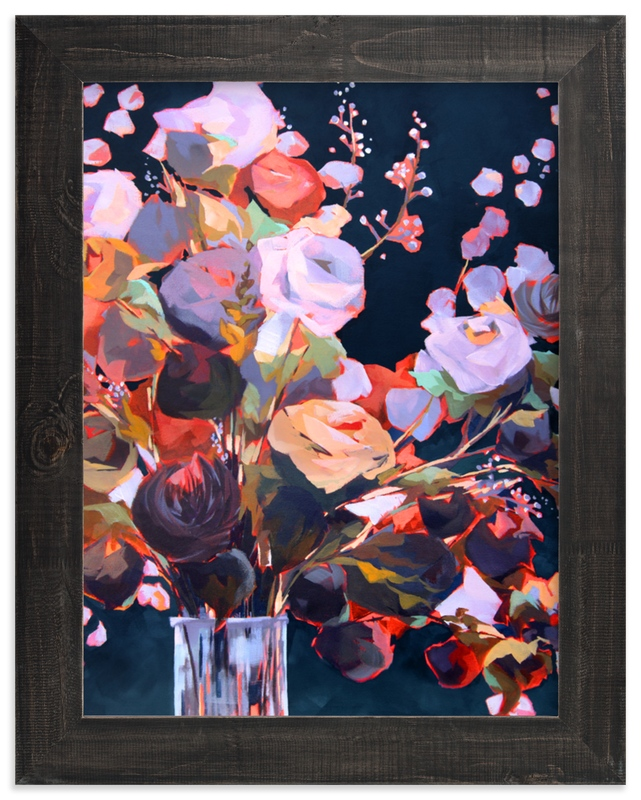 """""""Flourishing"""" - Limited Edition Art Print by Jess Franks in beautiful frame options and a variety of sizes."""