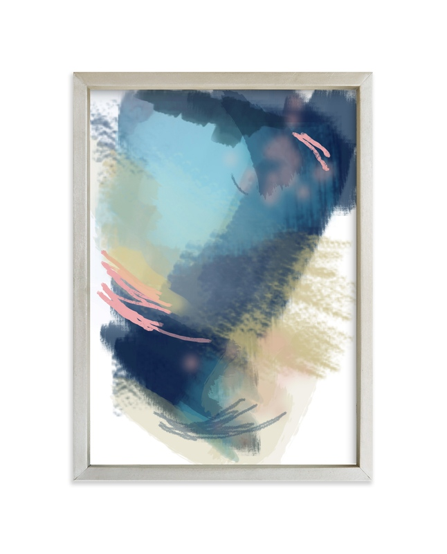 """""""island song"""" - Limited Edition Art Print by Alison Jerry Designs in beautiful frame options and a variety of sizes."""