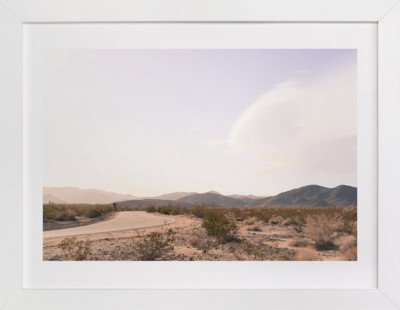 Desert Road Art Print