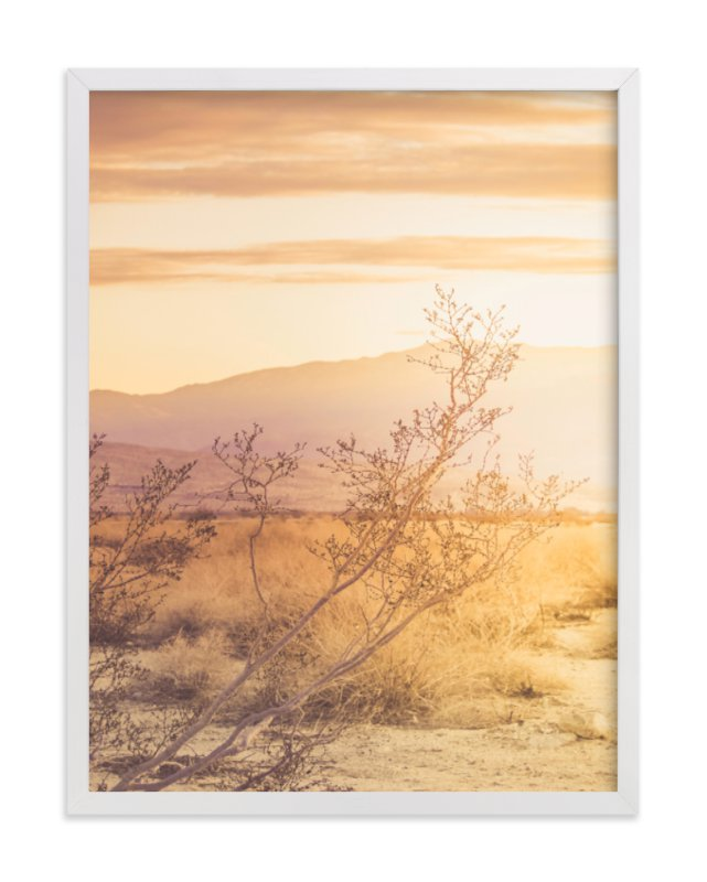 """""""Desert Roadtrip"""" - Limited Edition Art Print by Lisa Sundin in beautiful frame options and a variety of sizes."""