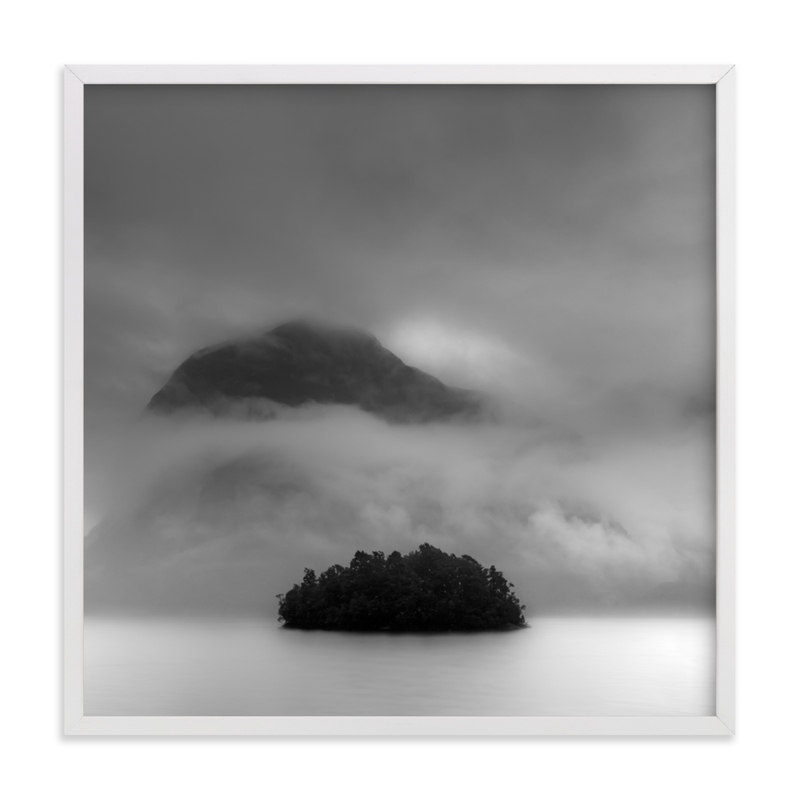 """""""Hidden Lands"""" - Limited Edition Art Print by Jason Derck in beautiful frame options and a variety of sizes."""