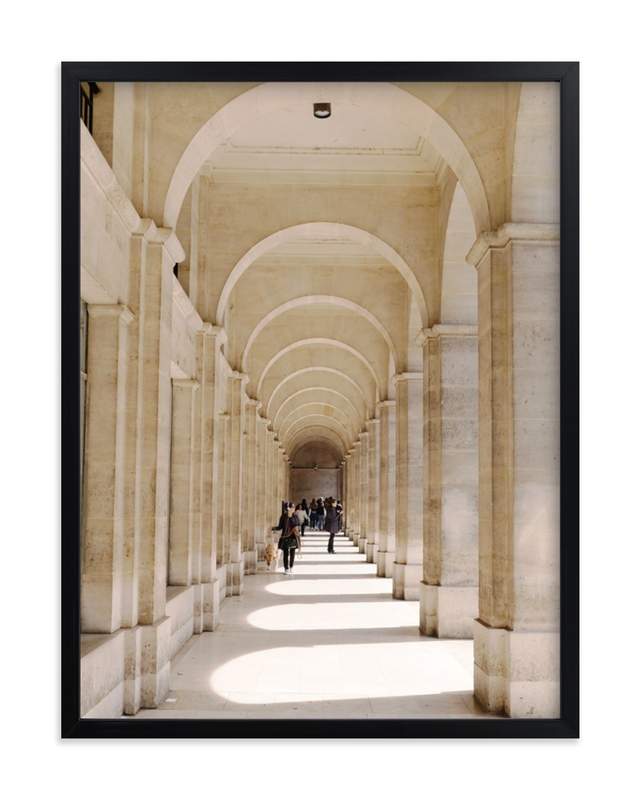 """""""Le Passage"""" - Limited Edition Art Print by Claire Abbiyesuku in beautiful frame options and a variety of sizes."""
