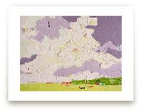 Lavender Sky by Nicolette Valikoski