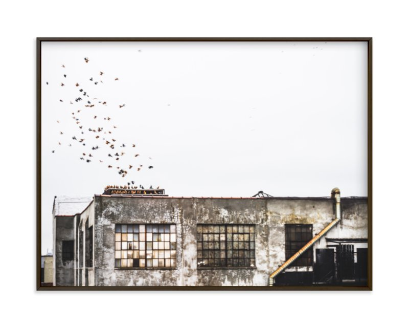 """""""Brooklyn"""" - Limited Edition Art Print by Kaitlin Rebesco in beautiful frame options and a variety of sizes."""