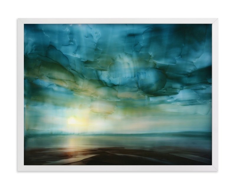 """""""Changing Light"""" - Limited Edition Art Print by Brian Sostrom in beautiful frame options and a variety of sizes."""
