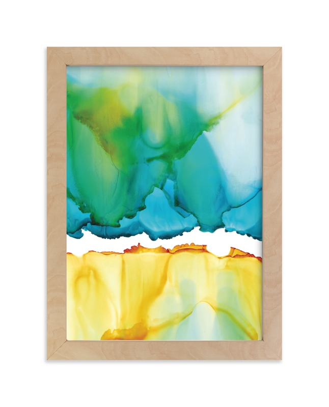 """Cove"" - Limited Edition Art Print by Jennifer Morehead in beautiful frame options and a variety of sizes."