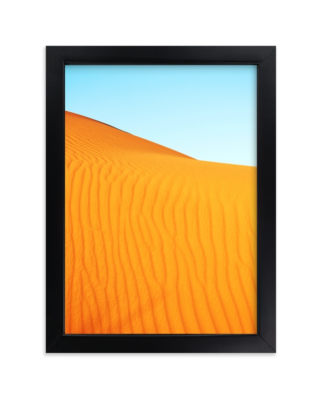 """Sand Dune 2"" - Limited Edition Art Print by Catherine Culvenor in beautiful frame options and a variety of sizes."