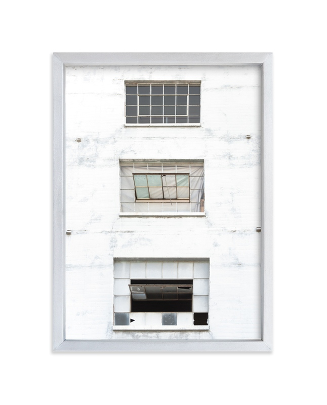 """""""Three Windows"""" - Limited Edition Art Print by Kamala Nahas in beautiful frame options and a variety of sizes."""