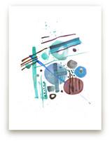 Spots of color by Oana Prints