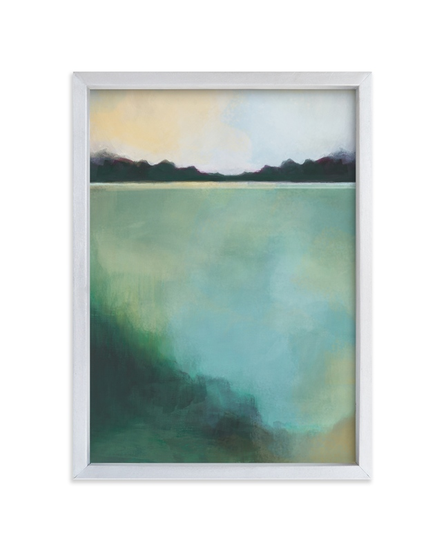 """Whispering Pines"" - Limited Edition Art Print by Alison Jerry Designs in beautiful frame options and a variety of sizes."