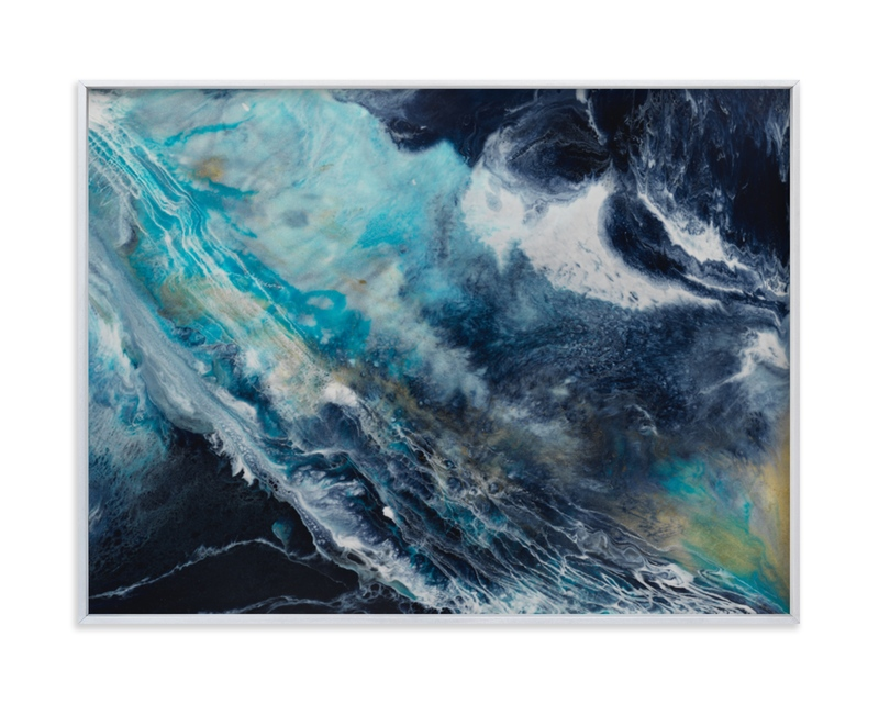 """""""Oceana"""" - Limited Edition Art Print by Alice Lin in beautiful frame options and a variety of sizes."""
