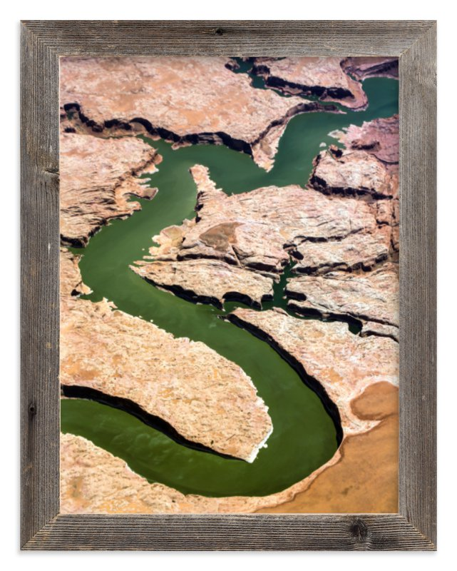 """""""The Grand Canyon"""" - Limited Edition Art Print by Elena Kulikova in beautiful frame options and a variety of sizes."""