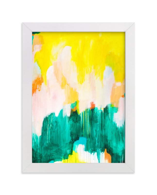 """""""Pina"""" - Limited Edition Art Print by Parima Studio in beautiful frame options and a variety of sizes."""